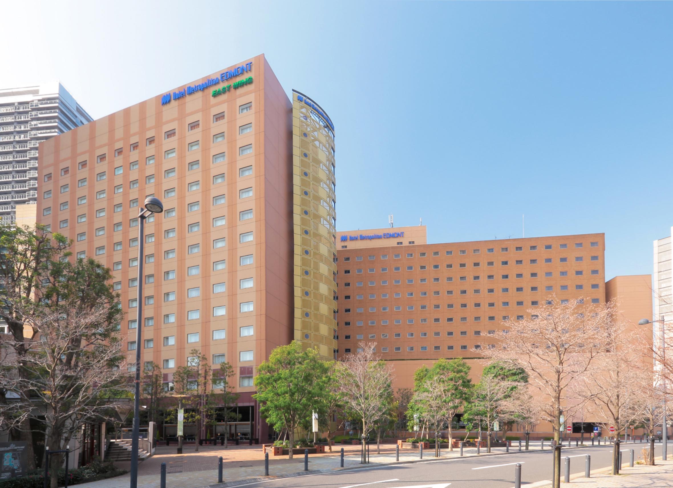 【6月-7月・往復バス&ホテル】ホテルメトロポリタンエドモント